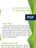 Foothandspa PPE