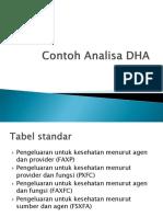 Contoh Analisa DHA
