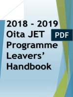 2018-2019 leavers guide