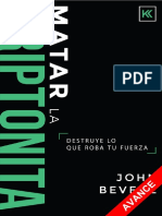 Killing Kryptonite Book SAMPLE Spanish