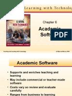 Academic software