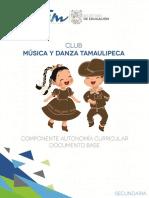 Club Musica y Danza Tamaulipeca Documento Base Secundaria