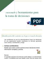 Clase 7-Métodos y Herramientas para la toma de Decisiones.ppt