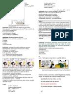 Avl. 1º Ano - 2º Período Português Ensino Médio