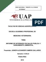 Informe de Salud Publica