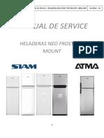 Manual Service DNF Plaqueta Electrónica Pilisar V2