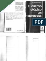 Foucault Michel- El Cuerpo Utopico. Las Heterotopias