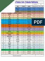 Medidas de Corte - Publicitario Actualizado Al 20-11-17