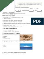 EVALUACIÓN Historia y Geografía Oa8