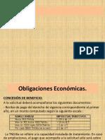Obligaciones Económicas Diferentes Concesionarios.