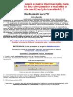 Manual osciloscópico para computador
