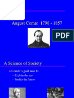 Auguste Comte - PPT Presentation