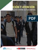 Prevención y Atención Frente Al Acoso Entre Estudiantes