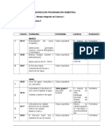 Cronograma Cuencas i. 2019