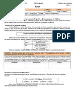 3M PSU 303 Guía 3. Vocabulario Contextual. Familia y Combinaciones (4p)