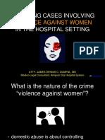Managing Case Involving Violence Against Women