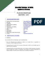 777 Plan de Estudios Ingeniería de Sistemas