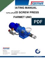 Farmet Uno Manual
