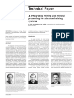 Lectura 4 - Integrating Mining and Mineral