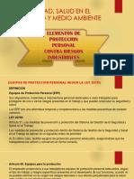 Elementos de Proteccion Personal Contra Rieesgos Industriales Tema 7