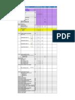Planilla de Metrado Estructuras