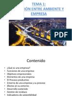 Ambiente y Empresa