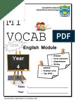 MyVocab English Module Y4 SKKK 2018