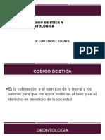 Codigo de Etica y Deontologica