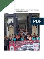 Gerakan Melawan Radikalime STKIP Suar Bangli