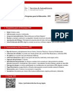 One Pager - Préstamo FPE