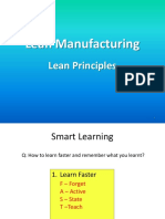 Lean Manufacturing 1st Class
