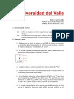 Taller I (Parte B) Química 1