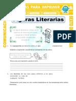 Ficha Que Son Las Figuras Literarias Para Sexto de Primaria
