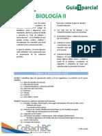 Guía de Estudio Primer Parcial - Biología II