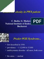 Corin Badiu - Endocrine Obesity in PWS Joi