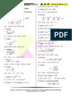 1. Leyes de Exponentes – Ecuaciones Exponenciales