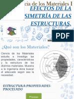 Clase #2. Efectos de La Simetría de Las Estructuras