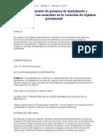 Los Documentos de Promesa de Matrimonio y Reconocimiento Son Esenciales en La Variación de Régimen Patrimonial