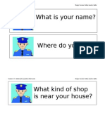 Sample Police Questions Session 2.2