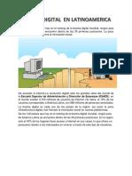 Brecha Digital en Latinoamerica
