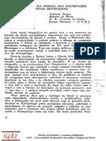 A Construção Da Pessoa Nas Sociedades Indígenas Brasileiras (1)