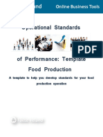 SOP for TEMPLATE PRODUCTION