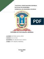Informe de Topografia General