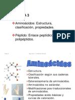 Clase 3 Aminoácidos