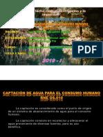 Captacion de Agua Para El Consumo Humano OS.010