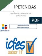 Capacitación Icfes y Las Competencias