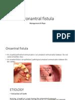 Oroantral Fistula