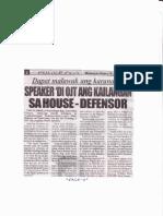 Police Files, June 19, 2019, Spaker di OJT ang kailangan sa House-Defensor.pdf