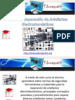 Curso de Reparacion de Artefactos Electrodomesticos