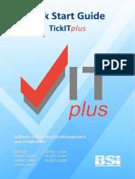TickITplus - Kick Start Guide